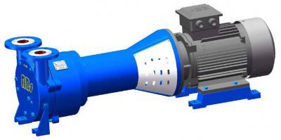 VL系列,帶托架結構單級液環真空泵