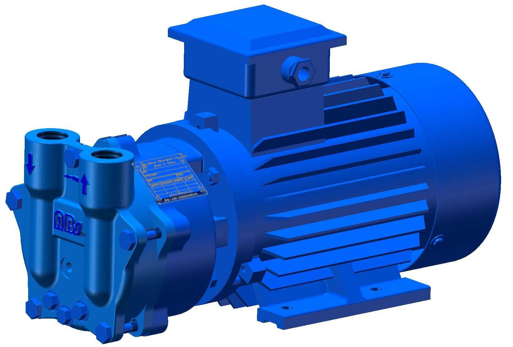 VA25 单级直联 液环真空泵