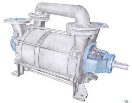 VH65330 双级液环真空泵