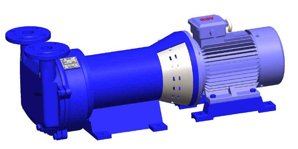 VLE95-155 带托架液环真空泵